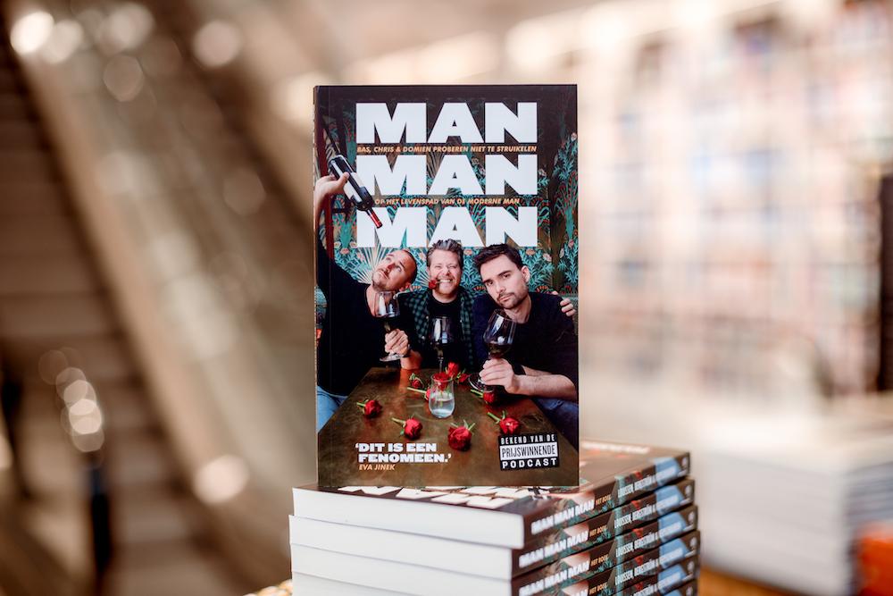 Man man man, de podcast - het boek
